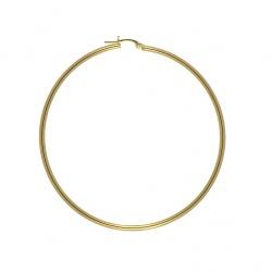 Orecchini a cerchio in oro 750