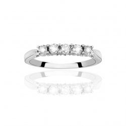 Anello Riviere Con Diamanti