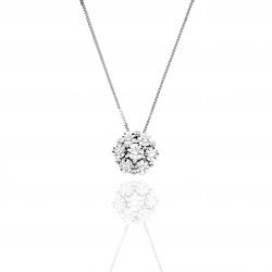 Collier con diamanti