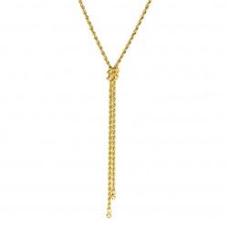 Collier In Oro 750 Maglia...