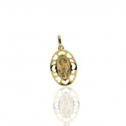 Medaglia Sacra Ovale in Oro...