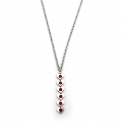 Collier Tennis Cuore in...