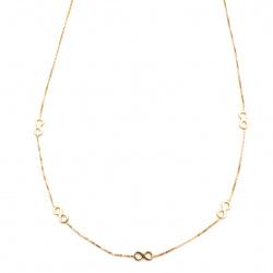 Collier infinito in oro 750