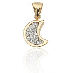 Pendente In Oro 750 Luna