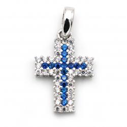 Pendente classico con croce